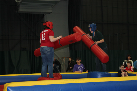 Students enjoy fun-filled activities at the Big Event carnival
