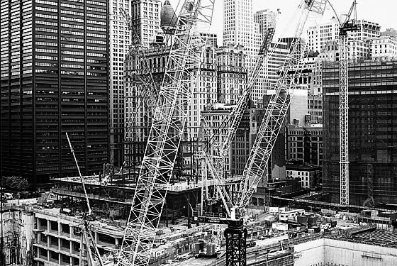 Re-construction at Ground Zero drags on for years