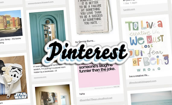 Pinterest is a new social photo sharing website.